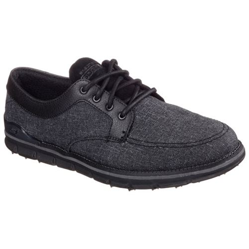 Skechers (Black) Eagle Extra Wide Fit (4E) Mens Shoes - Canada 35NUGJZ