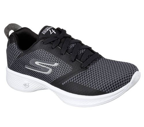 Skechers (Black) Gowalk 4 Fascinate Womens Performance Shoes - Canada 99JLQDX
