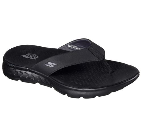 Skechers (Black/Grey) On The Go 400 Shore Mens Sandals - Canada 11ZXNJH