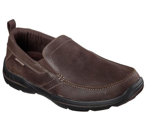 Skechers (Brown) Relaxed Fit Harper Forde Mens Shoes - Canada 87LRQAV