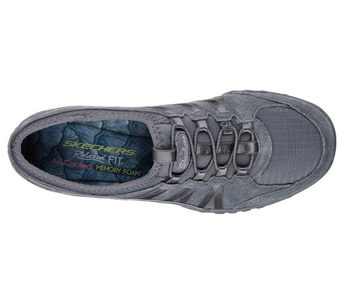 Skechers (Grey) Breathe Easy Moneybags Relaxed Fit Womens Shoes - Canada 26TKFCJ