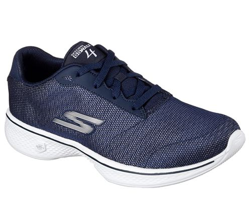 Skechers (Navy) Gowalk 4 Brisk Womens Performance Shoes - Canada 45HOWLB