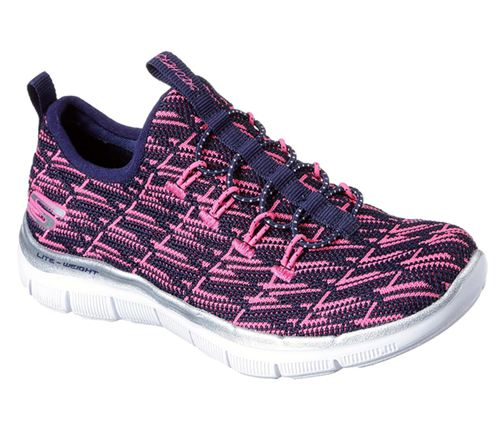 Skechers (Navy/Pink) Skech Appeal 2.0 Insights Girls Sport Shoes - Canada 55GISNX